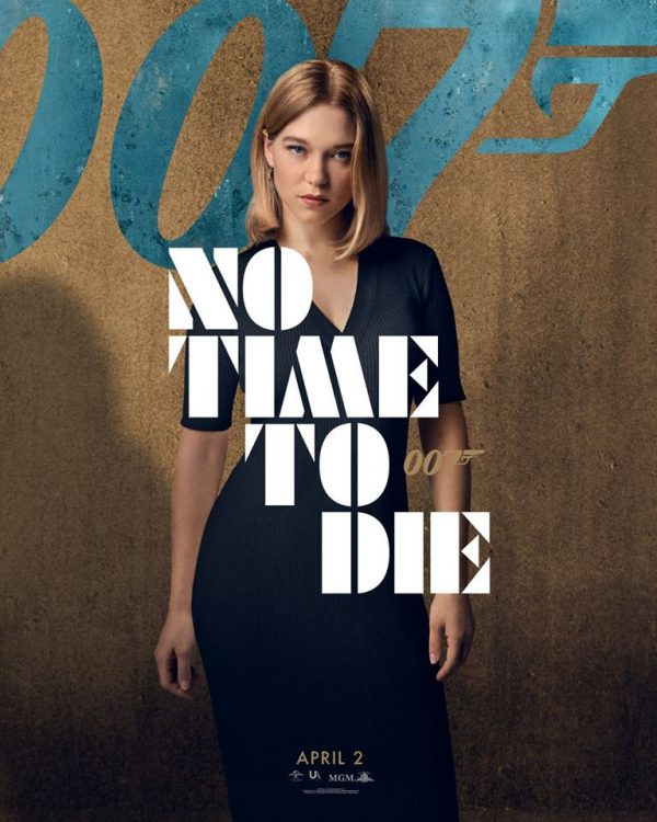 No Time To Die character posters feature Daniel Craig ...