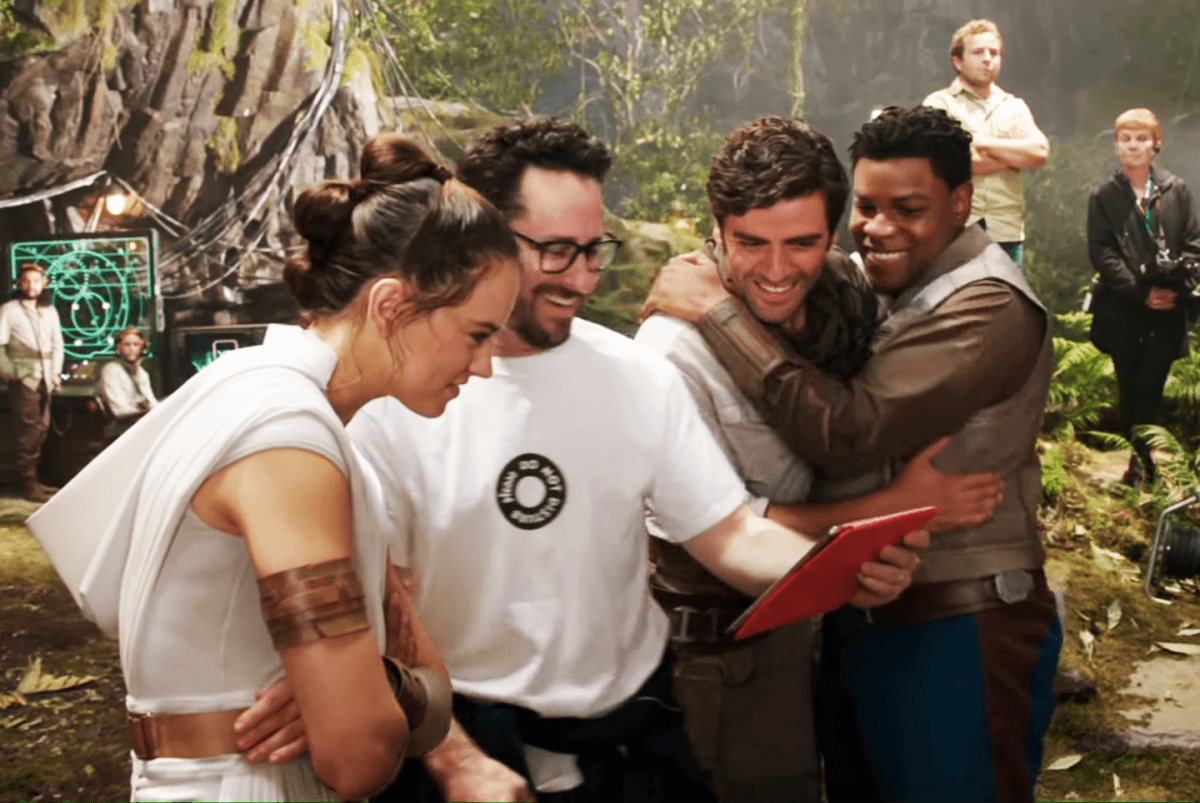 Go behind-the-scenes of Star Wars: The Rise of Skywalker