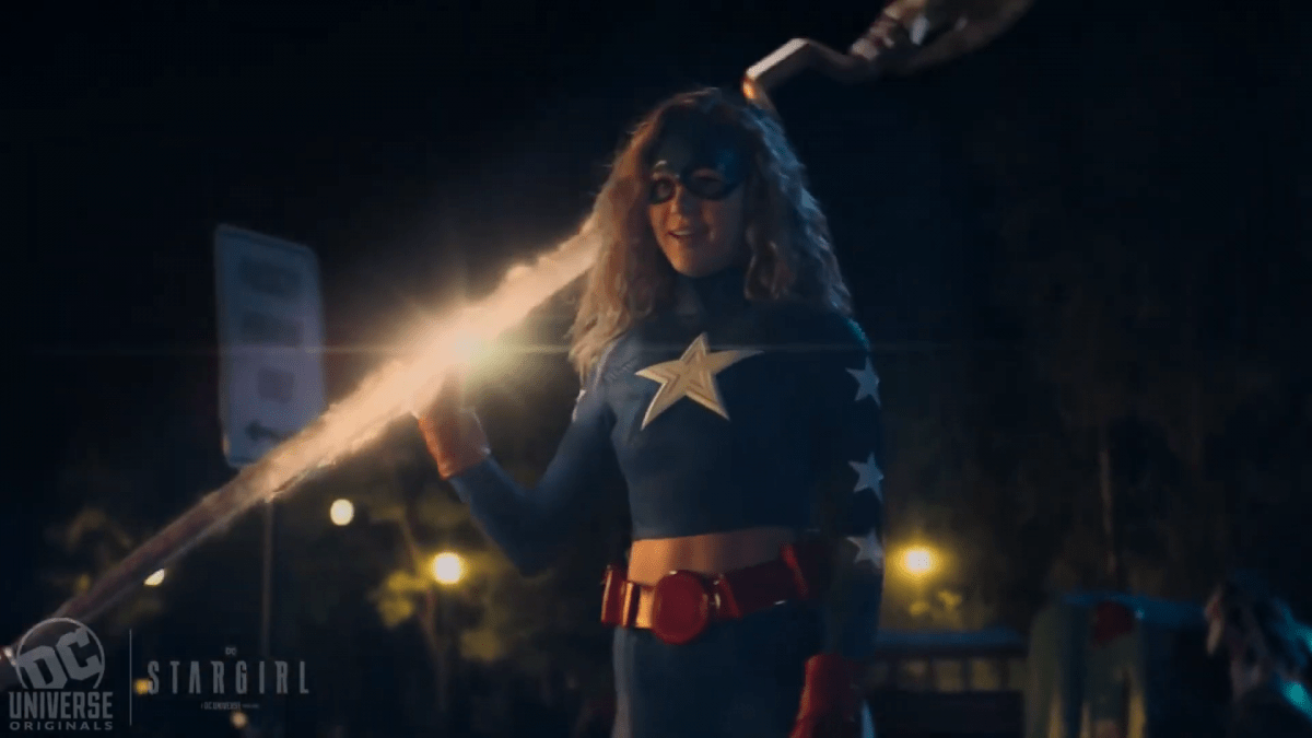 DC Universe's Stargirl series gets a brief first-look teaser