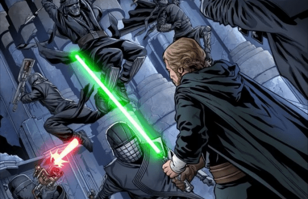 Luke Skywalker confronts the Knights of Ren in first look at Star Wars: The Rise of Kylo Ren #2