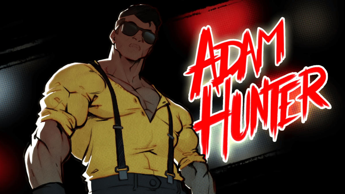 Adam Hunter returns to fight again in Streets of Rage 4