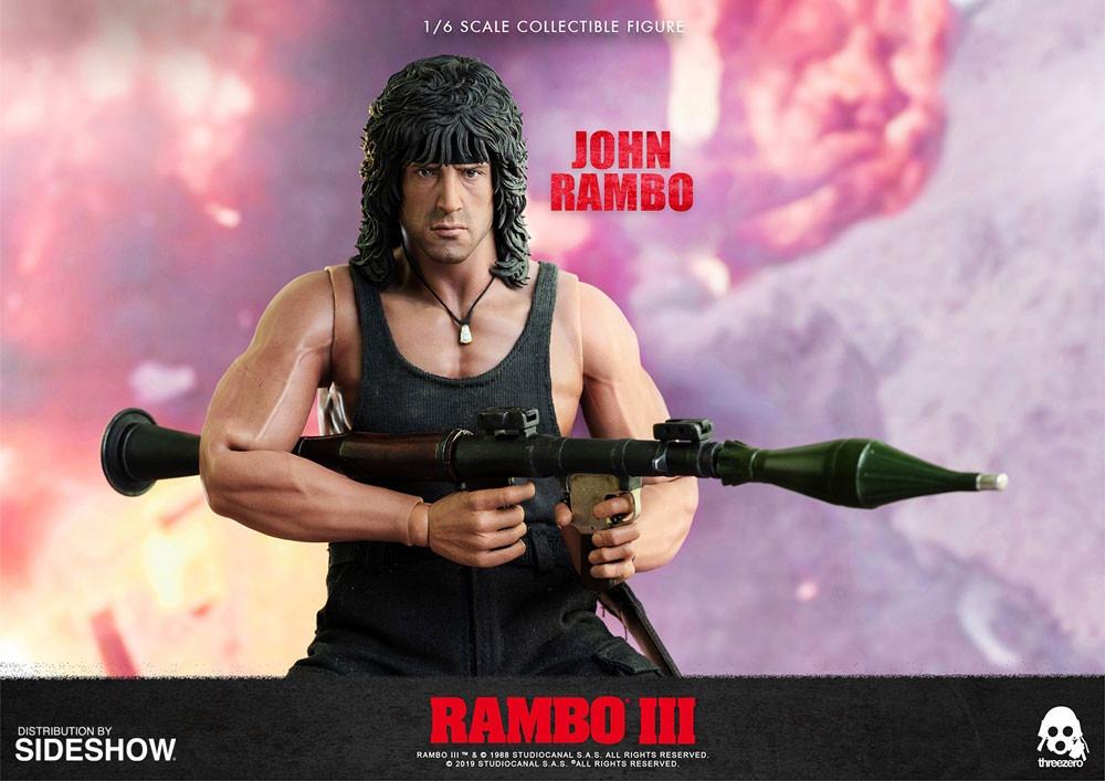 Threezero's new Rambo III action figure revealed