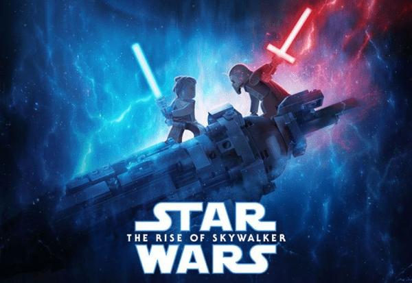 Star Wars The Rise Of Skywalker Poster Gets A Lego Makeover