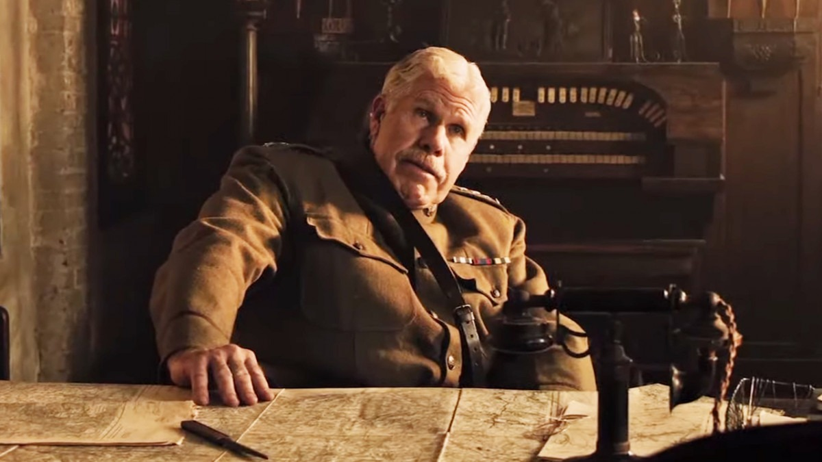 Watch an exclusive clip from The Great War featuring Ron Perlman and Billy Zane
