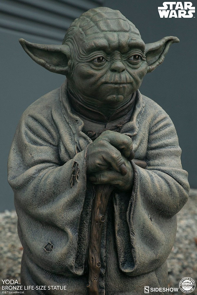 Yoda gets a life-size bronze statue from Sideshow Collectibles