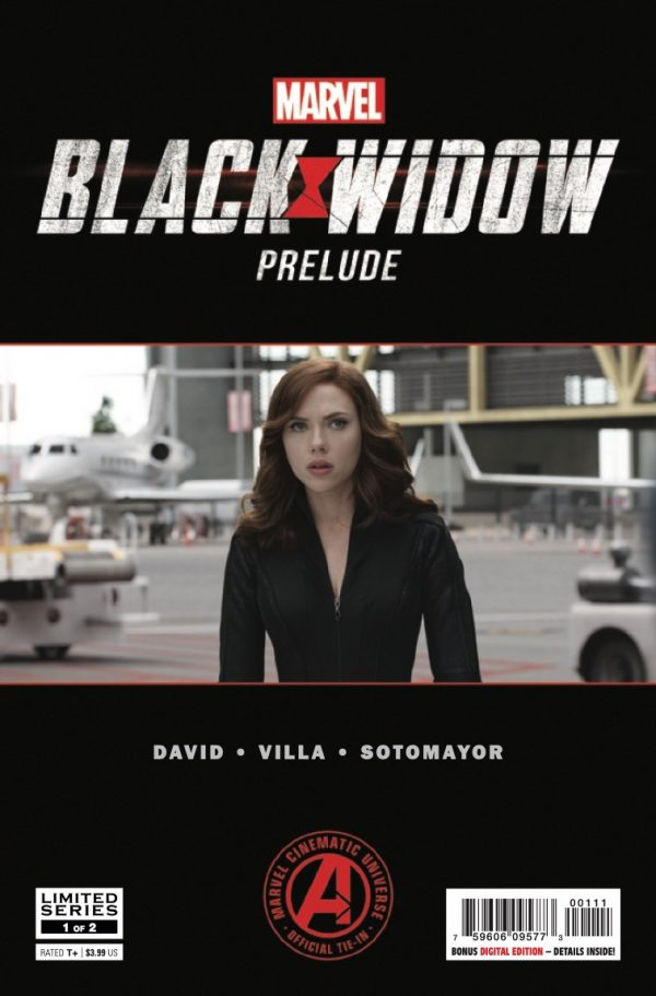 Comic Book Preview Marvel S Black Widow Prelude 1