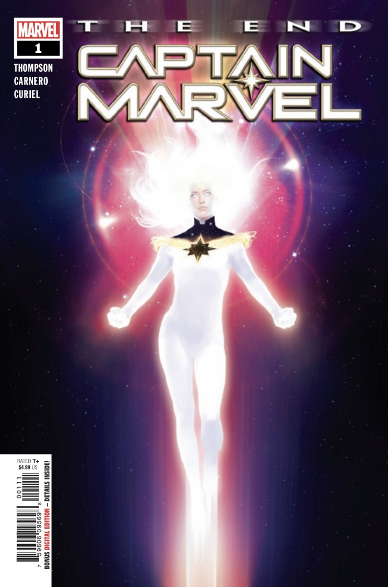 Comic Book Preview - Captain Marvel: The End #1