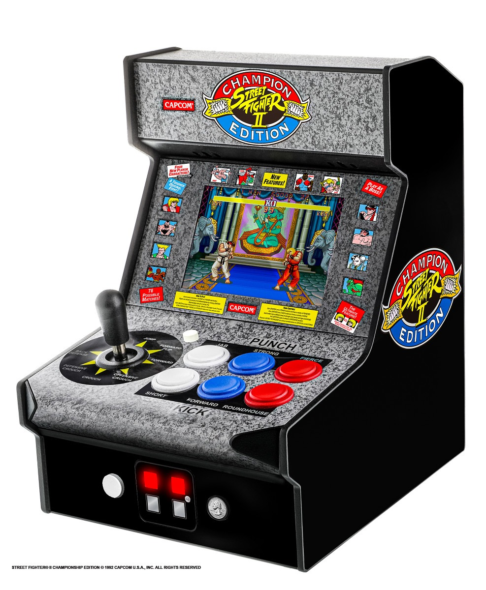 My Arcade Announces Street Fighter Ii Champion Edition Micro