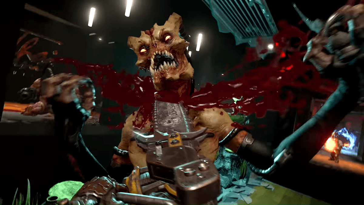 New trailer for DOOM Eternal showcases a gory single player campaign