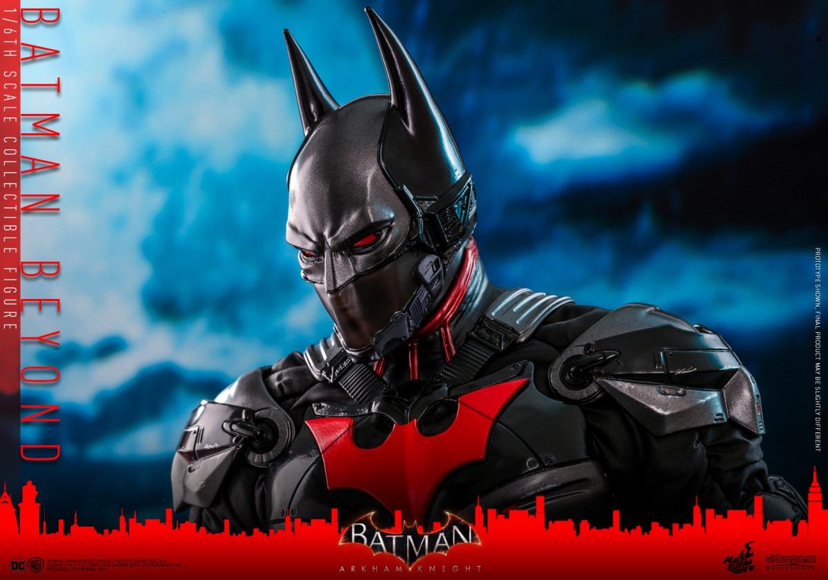 Batman: Arkham Knight Batman Beyond Movie Masterpiece Series figure revealed