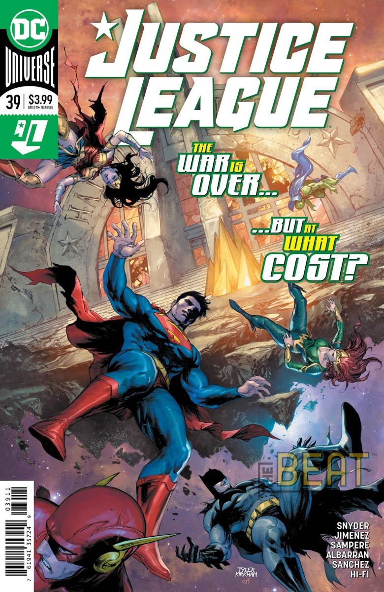 Comic Book Preview - Justice League #39