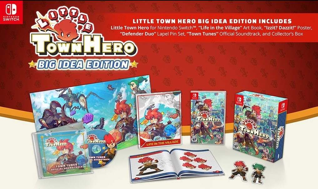 Little Town Hero Big Idea Edition coming to Nintendo Switch this Spring