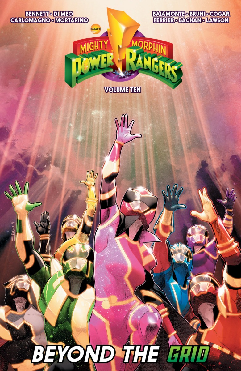 Comic Book Preview - Mighty Morphin Power Rangers Vol. 10
