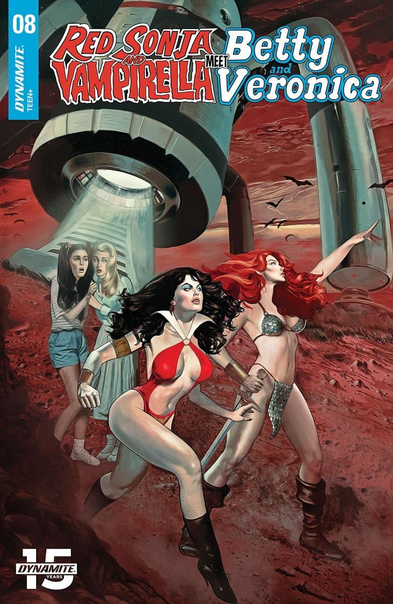Comic Book Preview - Red Sonja & Vampirella Meet Betty & Veronica #8