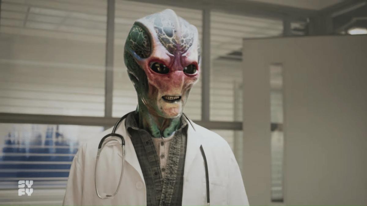 First trailer for comic book adaptation Resident Alien starring Alan Tudyk