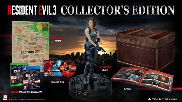 Collector's Edition of Resident Evil 3 is now available to pre-order