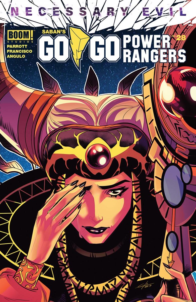 Comic Book Preview - Saban's Go Go Power Rangers #28