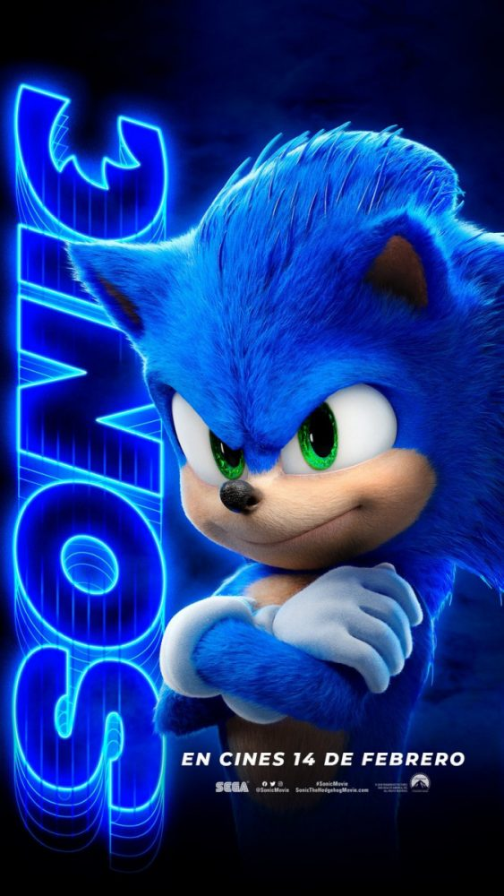 Sonic The Hedgehog Movie Character Posters Released