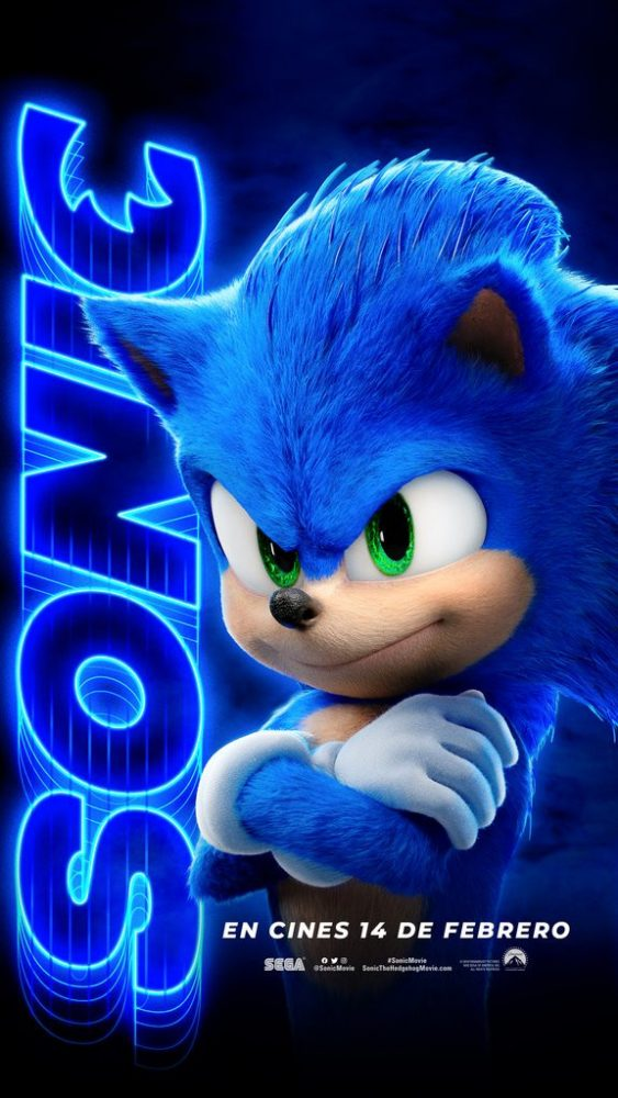 New Posters For Sonic The Hedgehog Movie
