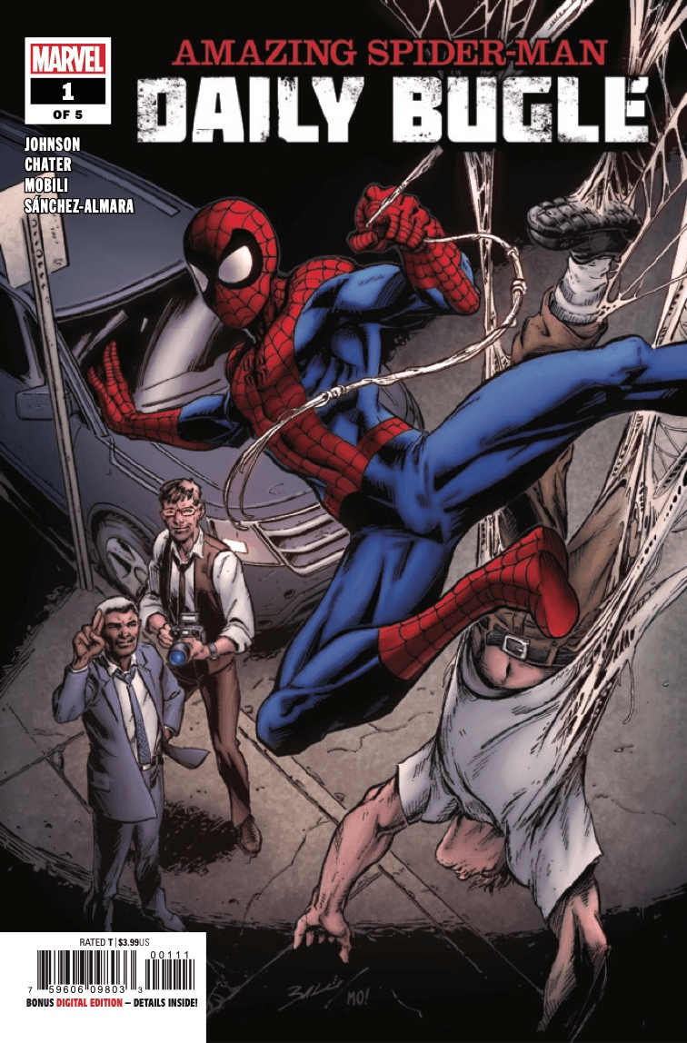 Comic Book Preview - Amazing Spider-Man: Daily Bugle #1