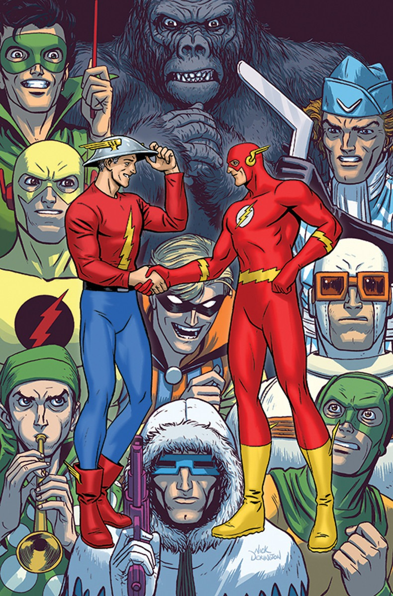 DC marks 80 years of the Scarlet Speedster with The Flash #750 decade variant covers