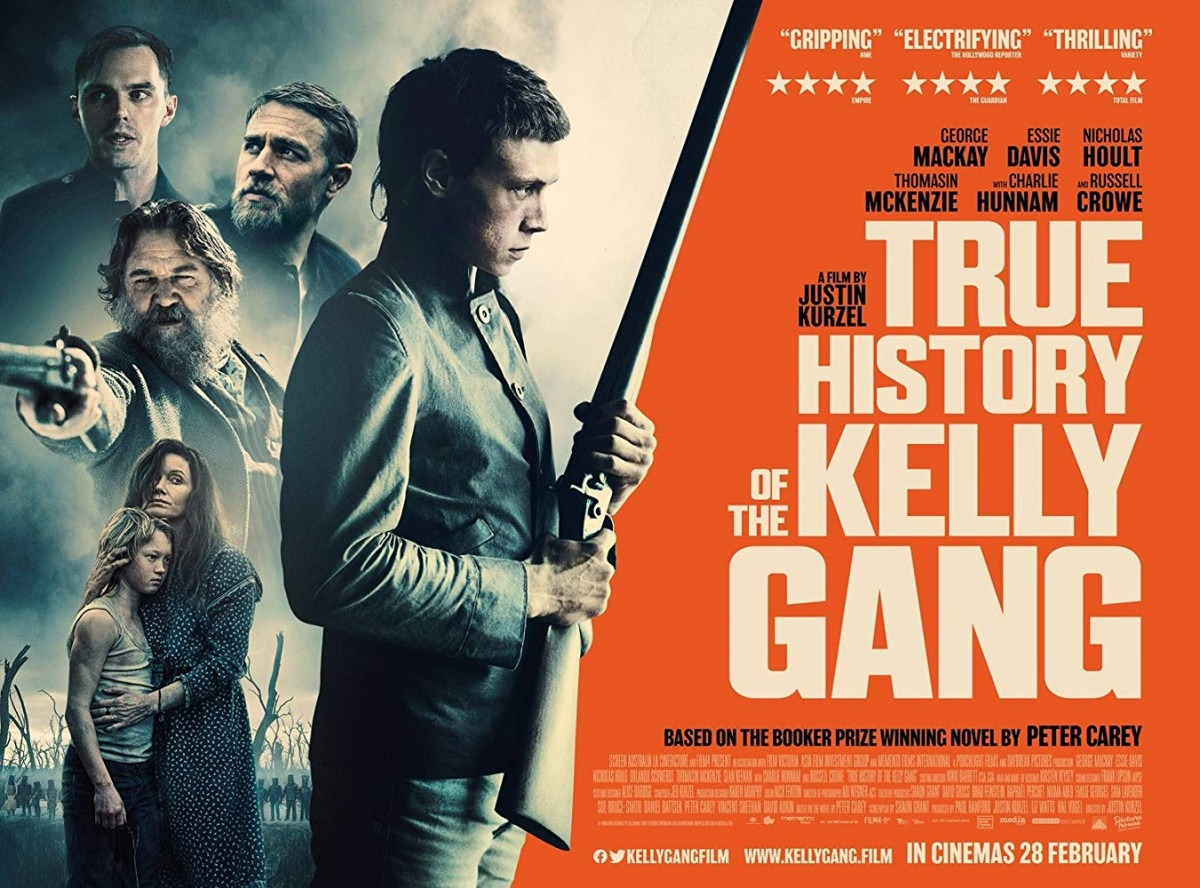 Movie Review - True History of the Kelly Gang (2019)