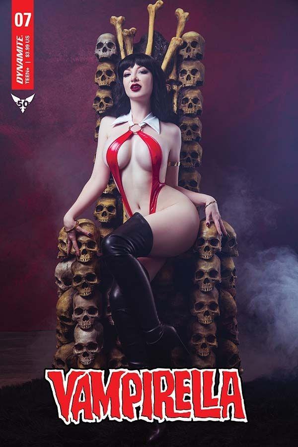 Comic Book Preview - Vampirella #7