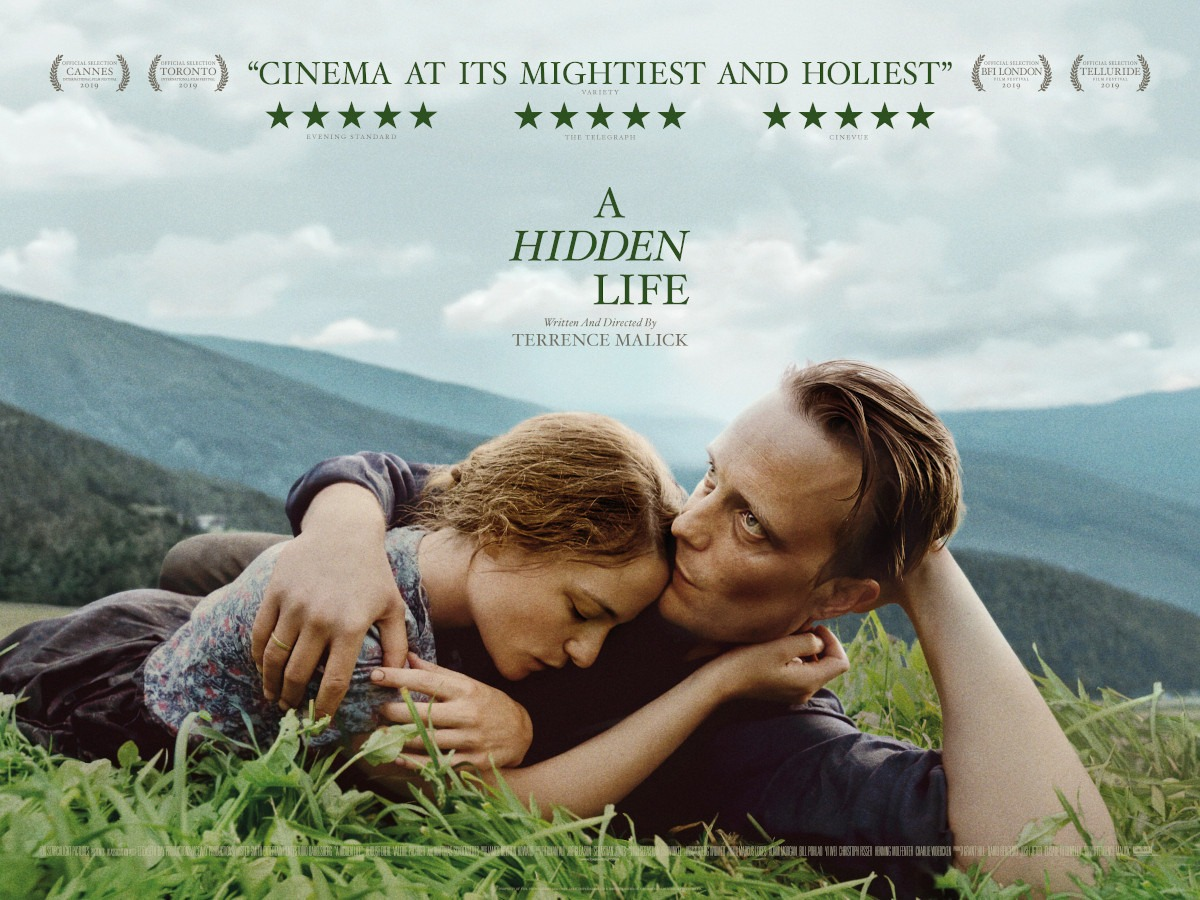 Movie Review - A Hidden Life (2019)