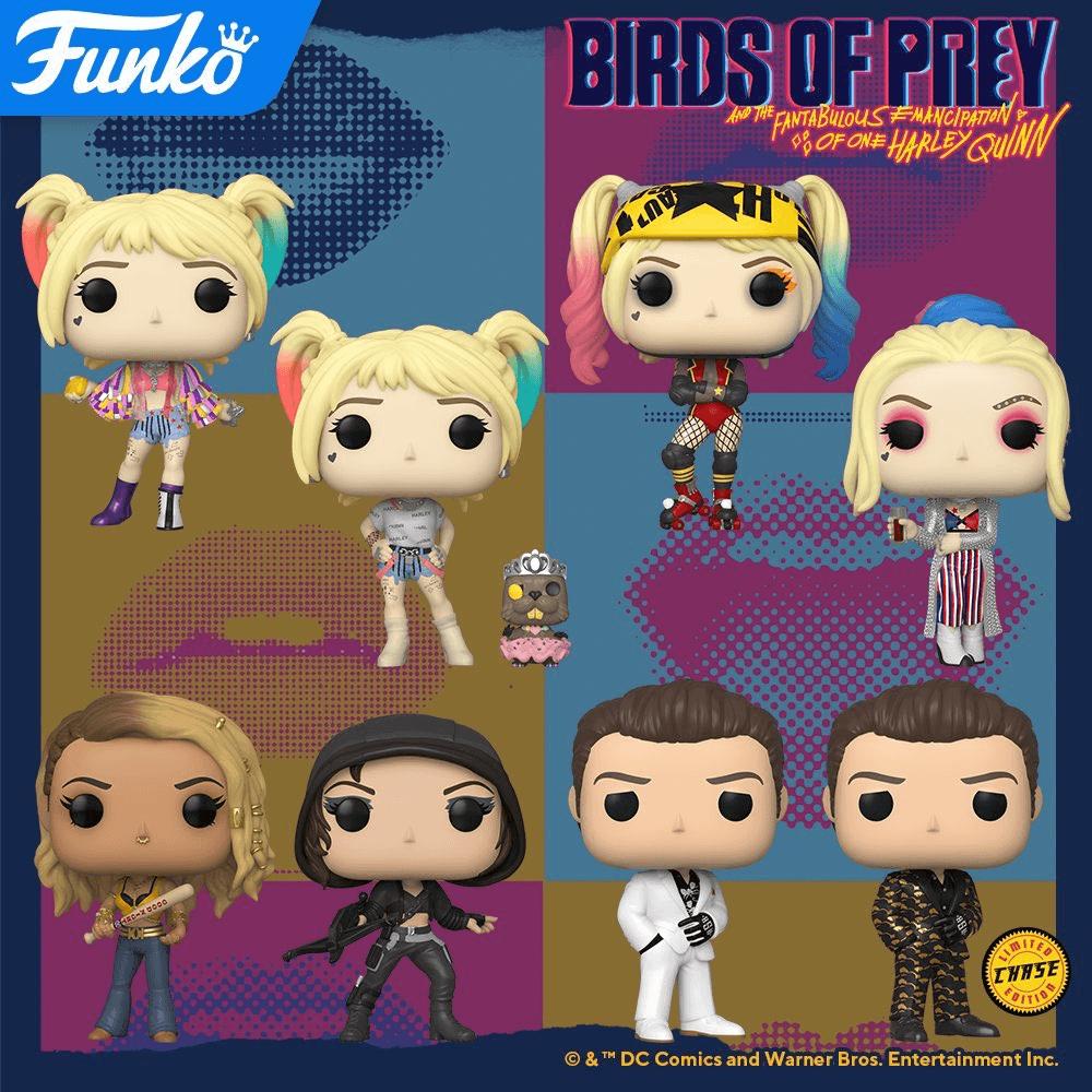 Birds Of Prey Pop Vinyl And Mystery Mini Figures Revealed By Funko