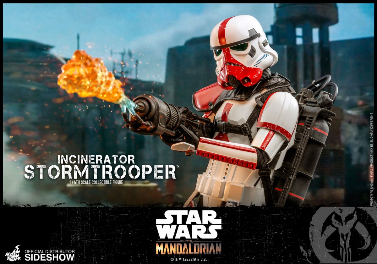 The Mandalorian Incinerator Stormtrooper Hot Toys Masterpiece Series figure revealed