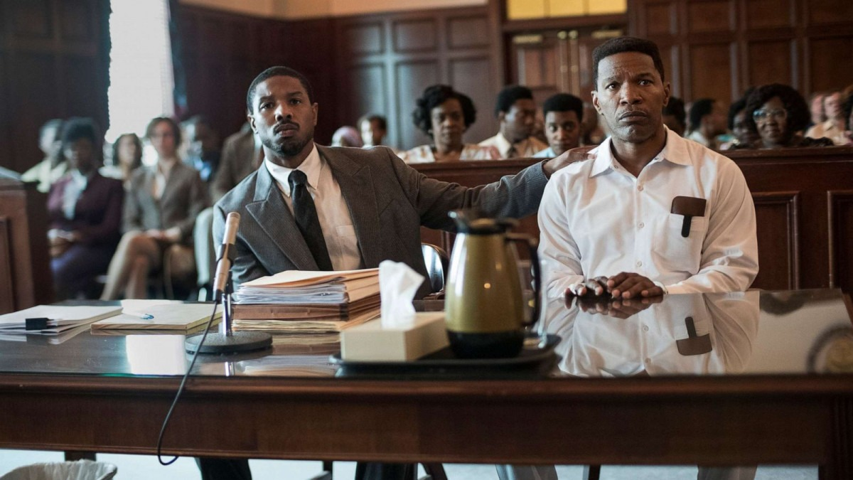 Exclusive Interview – Michael B. Jordan and Jamie Foxx on Just Mercy, coping during an emotionally intense filming process, and more