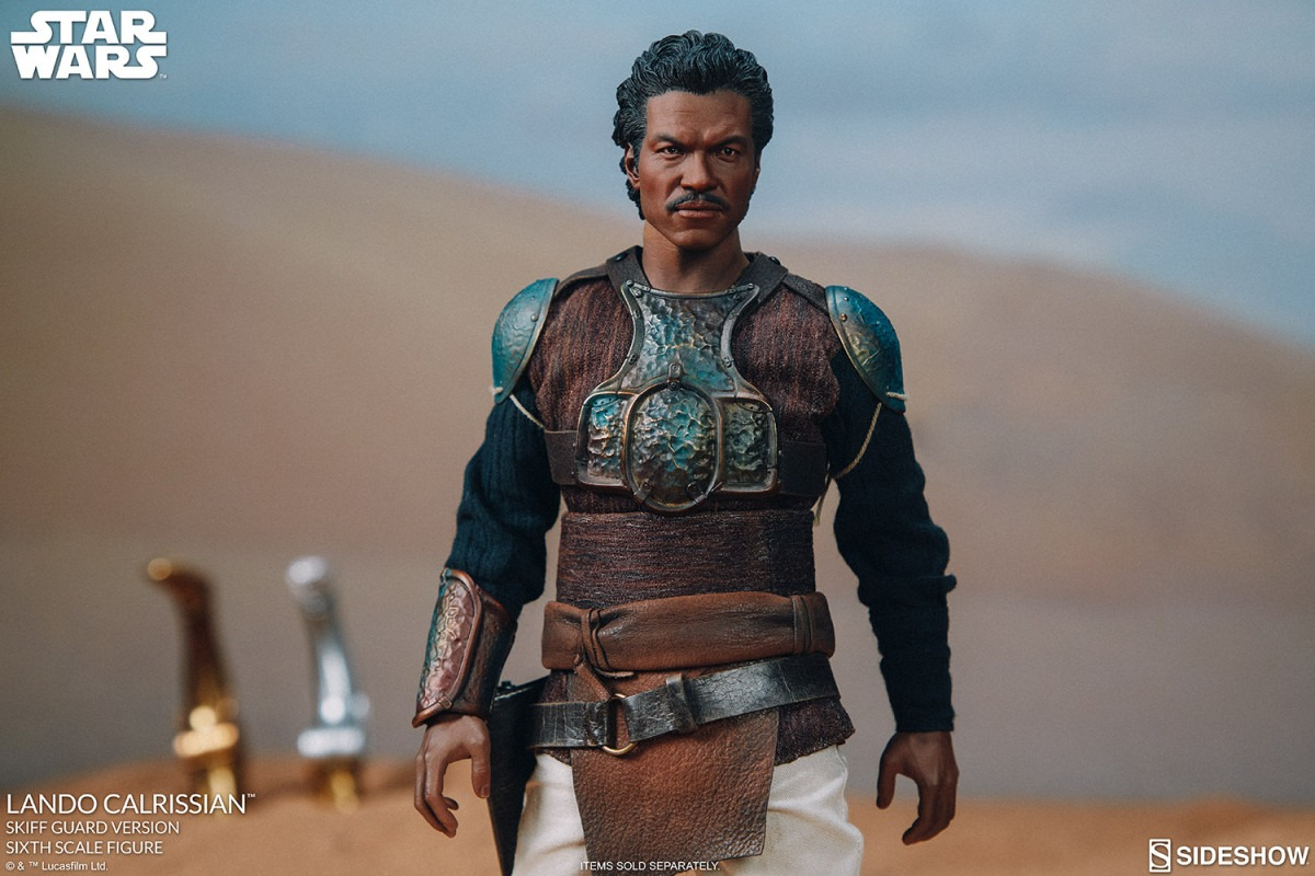 Sideshow unveils its Lando Calrissian Skiff Guard Star Wars: Return of the Jedi collectible figure