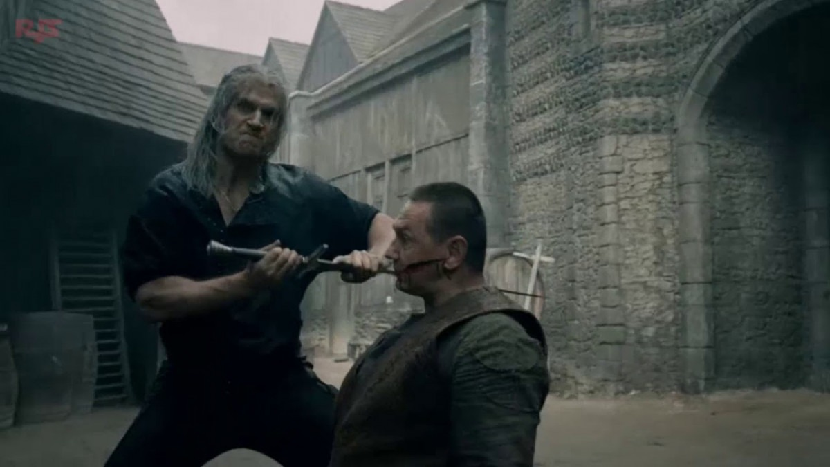 The Witcher showrunner breaks down the Butcher of Blaviken sequence in the first episode