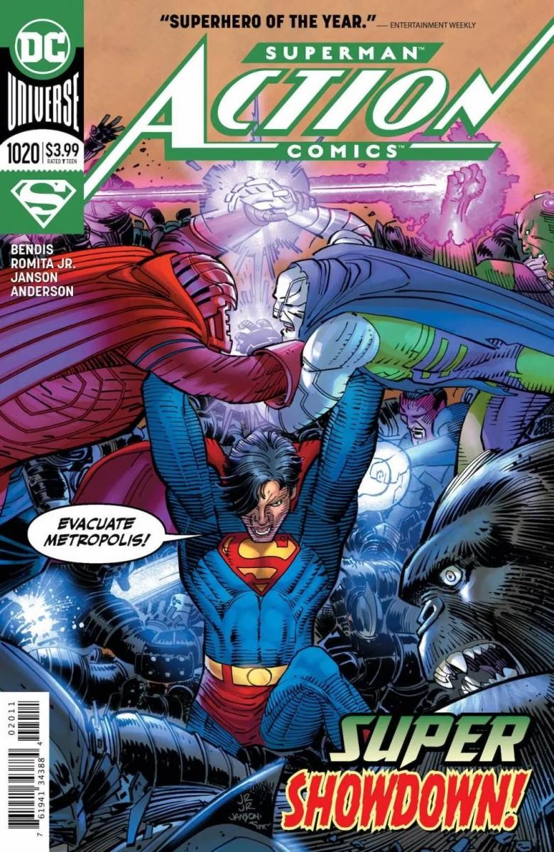 Comic Book Preview – Action Comics #1020