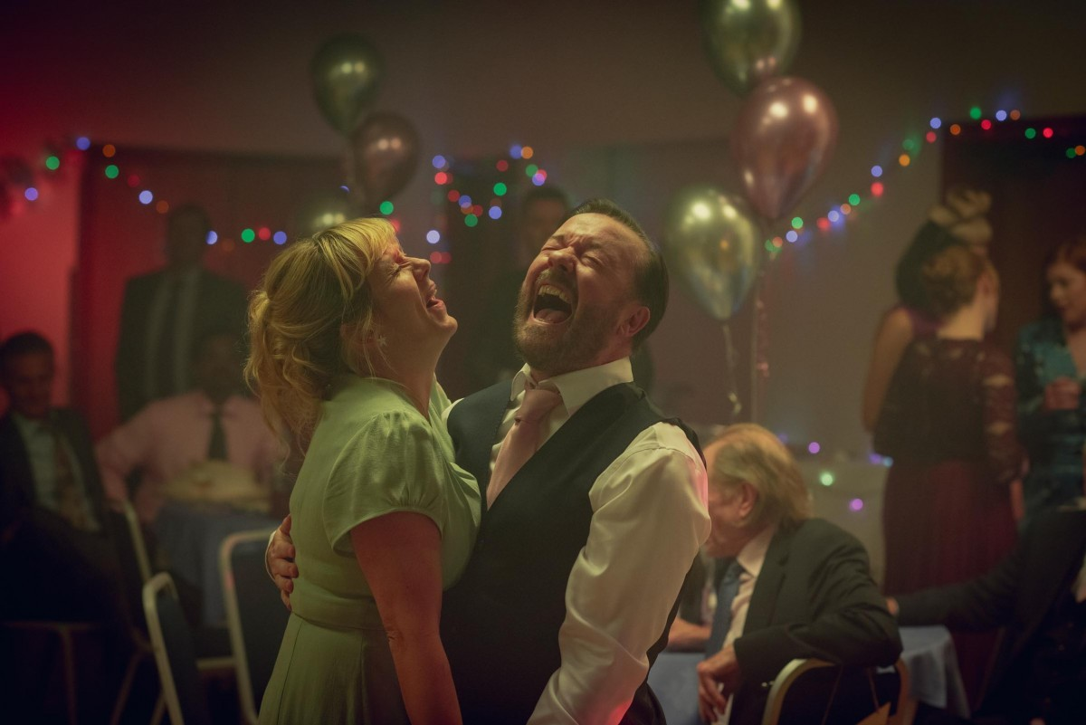 First look images from season 2 of After Life starring Ricky Gervais