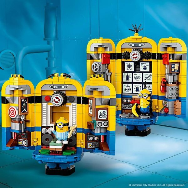 Brick-built-Minions-and-their-Lair-2-600x600