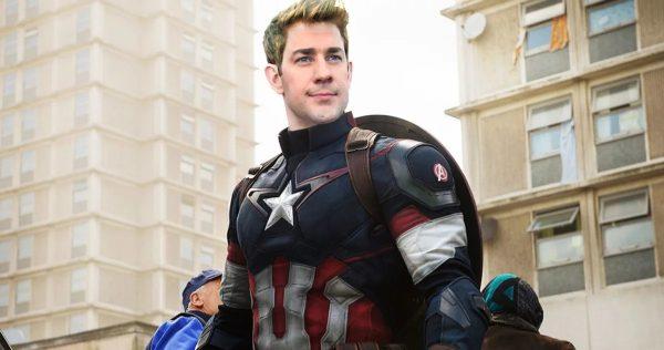 Captain-America-John-Krasinski-Chris-Evans-600x316