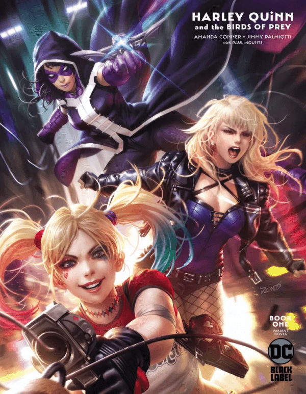 Comic Book Preview Harley Quinn The Birds Of Prey 1