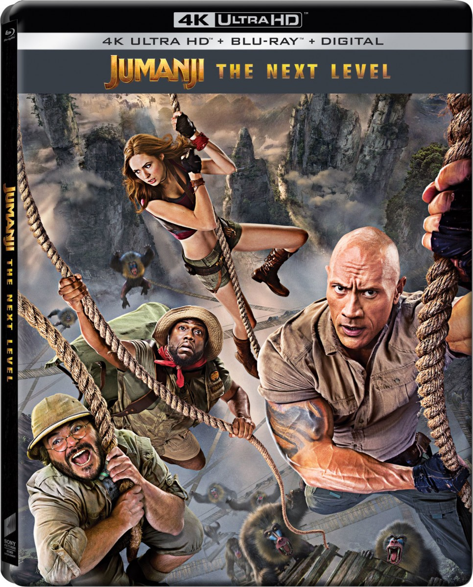 Jumanji The Next Level 4k Ultra Hd Blu Ray And Dvd Release Details And Special Features Revealed