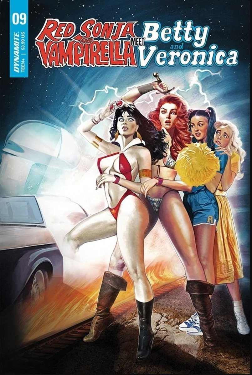 Comic Book Preview – Red Sonja Vampirella Meet Betty Veronica #9
