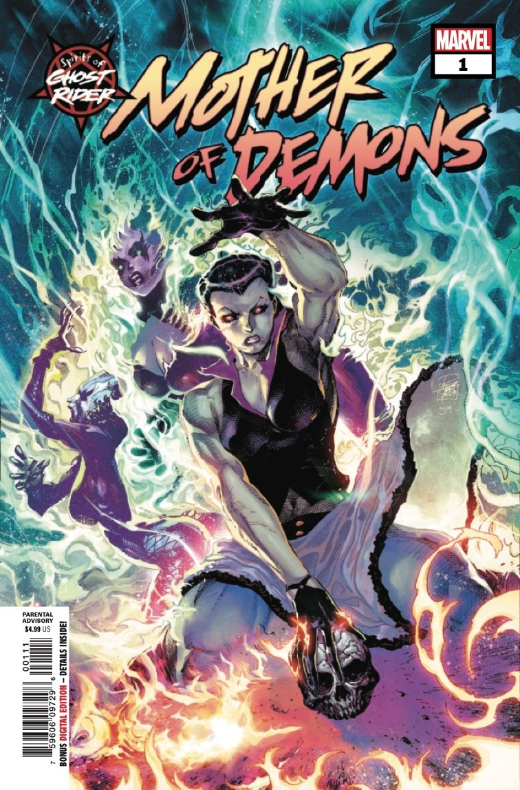 Comic Book Preview Spirits Of Ghost Rider Mother Of Demons 1