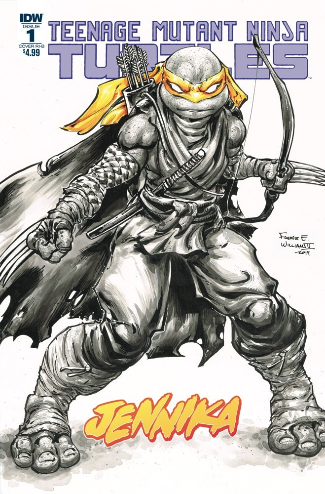 Comic Book Preview – Teenage Mutant Ninja Turtles: Jennika #1