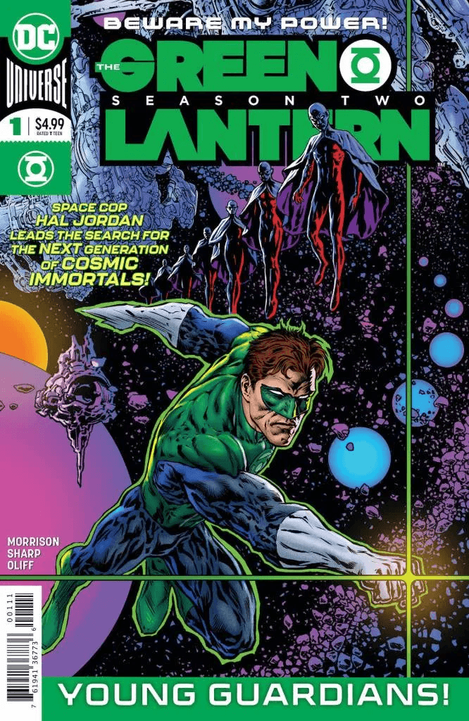 Comic Book Preview – The Green Lantern: Season Two #1