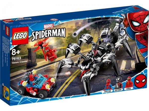 New LEGO Minifigure Marvel Villain Black Spider-Man//Venom
