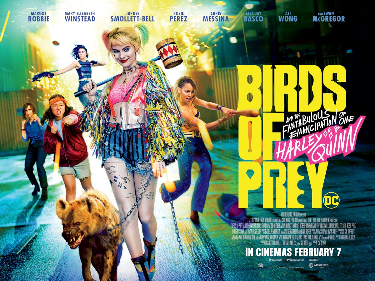Movie Review Birds Of Prey And The Fantabulous Emancipation Of One Harley Quinn 2020
