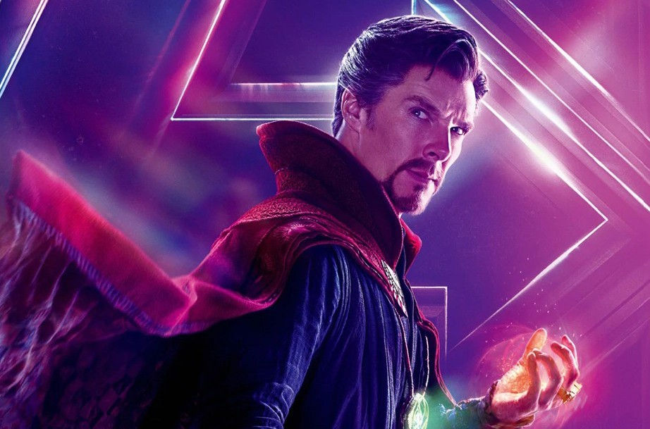 Doctor Strange dons Iron Man armor in used concept art from Avengers: Infinity War