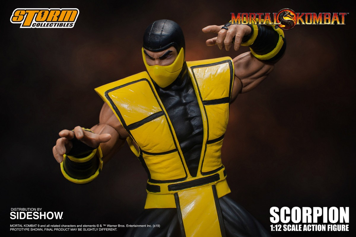 Mortal Kombat's Scorpion, Smoke, Cyrax, and Sektor get new Storm Collectibles action figures