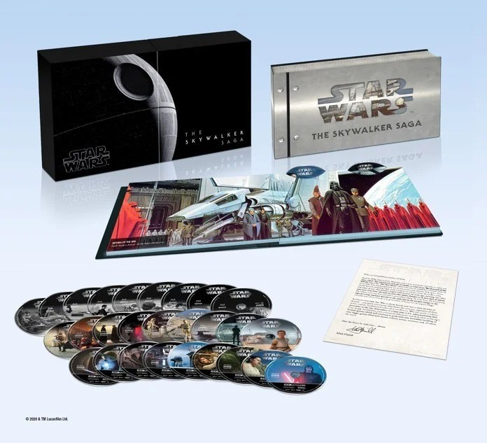 Star Wars: The Skywalker Saga 4K box set officially unveiled by Disney and Lucasfilm