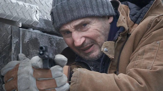 First look at Liam Neeson in The Ice Road