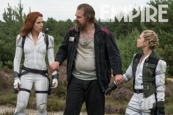 - Scarlett Johansson 24x36 Florence Pugh Harbour v4 Black Widow Movie Poster